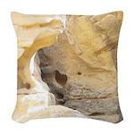 Sandstone Woven Throw Pillow