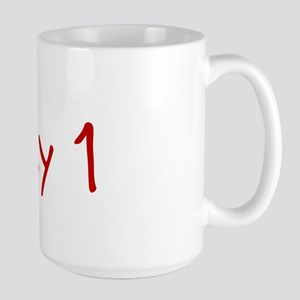 """May 1"" printed on a Large Mug"