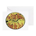 Flying Monkeys Greeting Cards (Pk of 10)