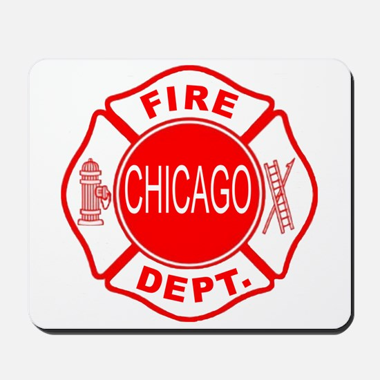 Chicago Firedepartment Mousepad