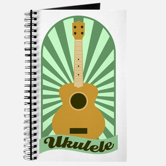 Green Sunburst Ukulele Journal
