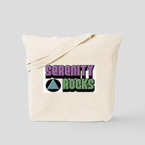 SERENITY ROCKS Tote Bag
