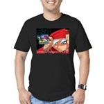 Cory's Red Cape Men's Fitted T-Shirt (dark)