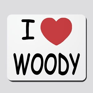 I heart Woody Mousepad