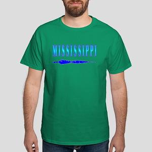 Mississippi Gator t-shirt sho Dark T-Shirt