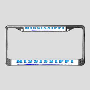 Mississippi Gator t-shirt sho License Plate Frame