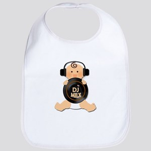 Baby DJ with Headphones Bib