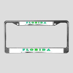 Teal Florida Gator License Plate Frame