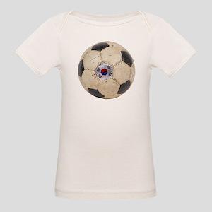South Korea Football Organic Baby T-Shirt