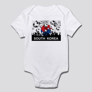 South Korea Football Infant Bodysuit
