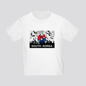 South Korea Football Toddler T-Shirt