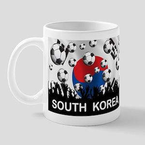South Korea Football Mug