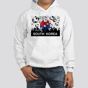 South Korea Football Hooded Sweatshirt