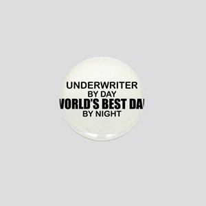 World's Best Dad - Underwriter Mini Button