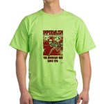 """""""Imperialism"""" Green T-Shirt"""