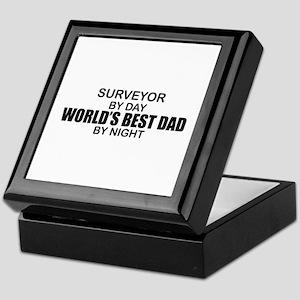 World's Best Dad - Surveyor Keepsake Box