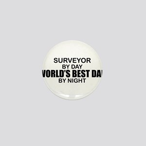 World's Best Dad - Surveyor Mini Button
