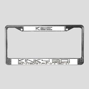 Kinky Boi Ent 2 License Plate Frame