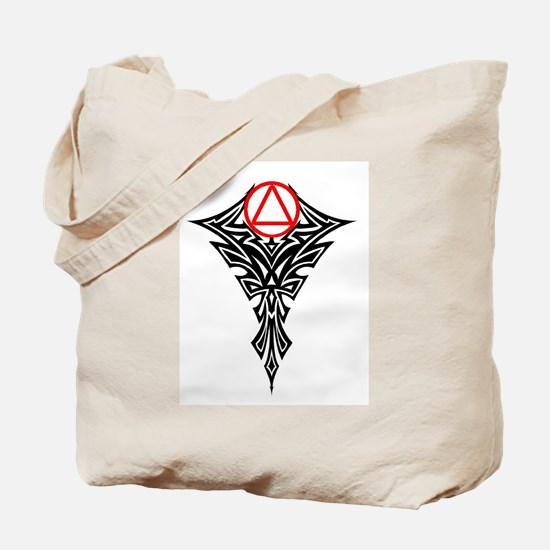RED TRIBAL BALL Tote Bag