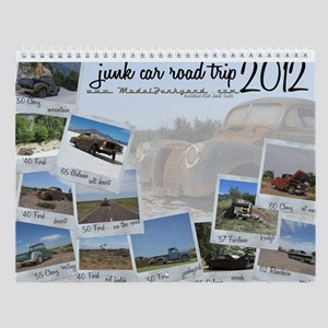 Junk Car Road Trip - 2013 Calendar - Junkyard Art