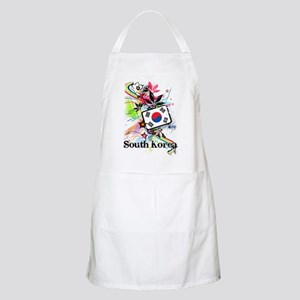 Flower South Korea Apron