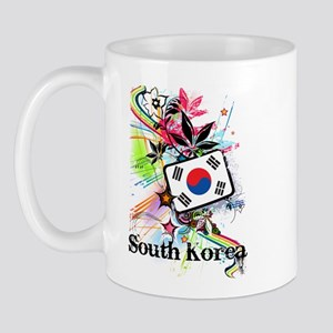 Flower South Korea Mug