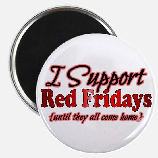 "I support Red Fridays 2.25"" Magnet (100 pack)"