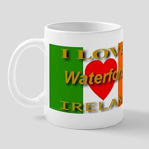I Love Waterford Ireland Hear Mug