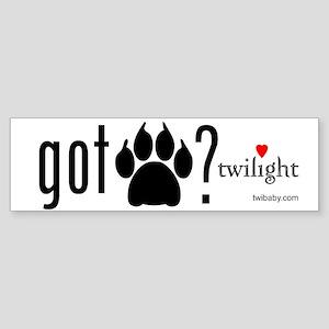 Got Werewolf? by twibaby Sticker (Bumper)