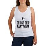 Cruise Ship Bartender Women's Tank Top