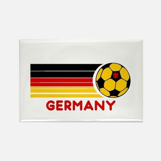 Germany Soccer Rectangle Magnet