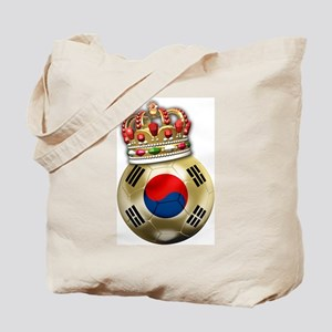 South Korea King Of Football Tote Bag