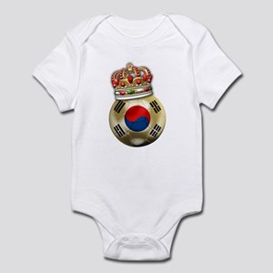 South Korea King Of Football Infant Bodysuit
