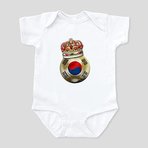 South Korea King Of Football Infant Bodysuit