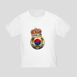 South Korea King Of Football Toddler T-Shir