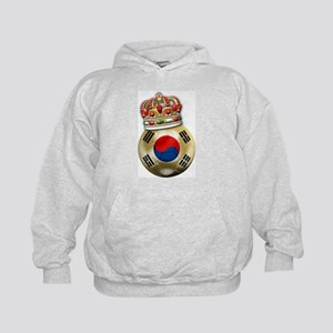 South Korea King Of Football Kids Hoodie
