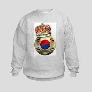 South Korea King Of Football Kids Sweatshirt