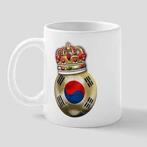 South Korea King Of Football Mug