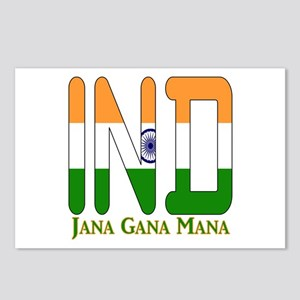 IND India Postcards (Package of 8)