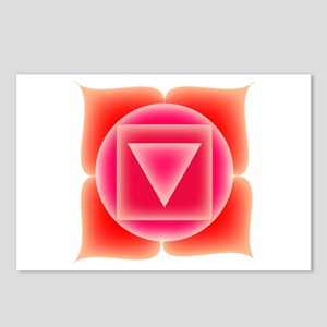 First Chakra Postcards (Package of 8)