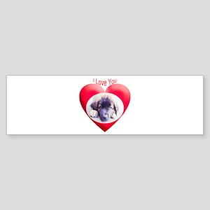 Valentines Leonberger Bumper Sticker