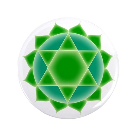 """Fourth Chakra 3.5"""" Button (100 pack)"""