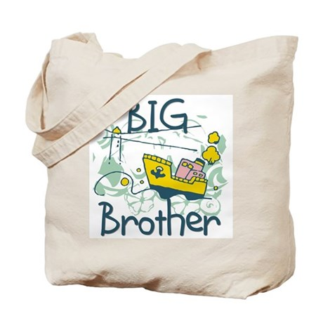 Tugboat Big Brother Tote Bag