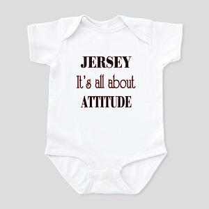 Jersey Attitude Infant Bodysuit