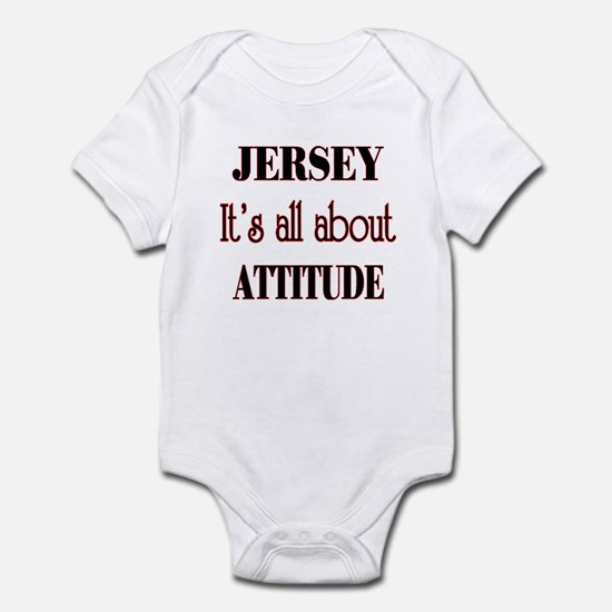 Jersey Attitude Infant Bodysuit
