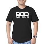 BODacious: Men's Fitted T-Shirt (black)