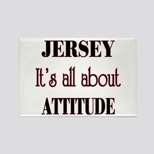 Jersey Attitude Rectangle Magnet