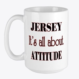 Jersey Attitude Large Mug