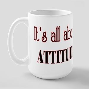 attitude Large Mug