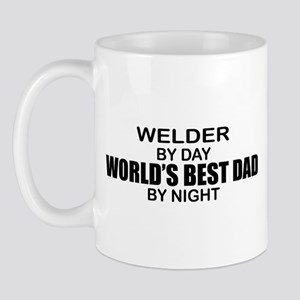 World's Best Dad - Welder Mug